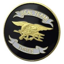 Новое-Спецназ ВМС команда США три Позолоченные наградная монета/значок/Медаль 1236