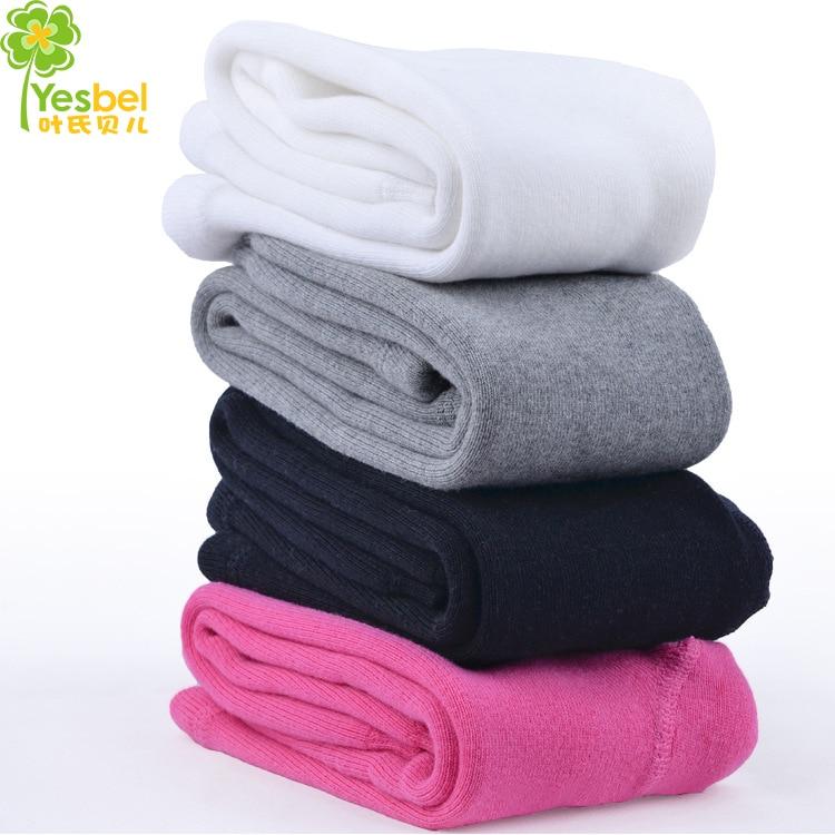 0-24m baby legging four colors white black gray pink kid cotton baby girl boy pant