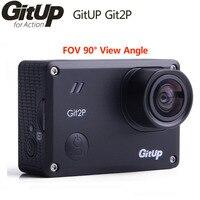 GitUp Git2P Action Camera WiFi 2K Sports DV Standard Edition 16MP 90 Degree Lens Novatek 96660