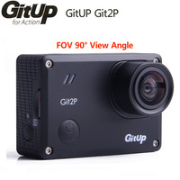 GitUp Git2P Action Camera WiFi 2K Sports DV Standard Edition 16MP 90 Degree Lens Novatek 96660