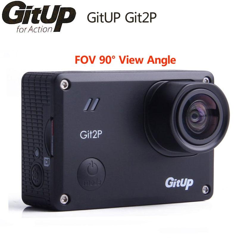 GitUp Git2P acción Cámara WiFi 2 K deportes DV edición estándar 16MP 90 grados lente Novatek 96660 2160 P al aire libre videocámara mini Cam