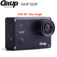 GitUp Git2P Action Camera WiFi 2K Sports DV Standard Edition 16MP 90 Degree Lens Novatek 96660 2160P Outdoor mini Camcorder Cam