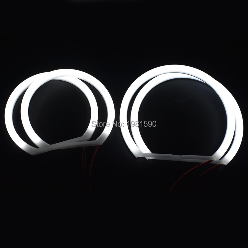 Hopstyling 1set White Cotton Light Angel Eyes Halo ring for BMW E46 Compact E83 X3 auto headlights DRL цены