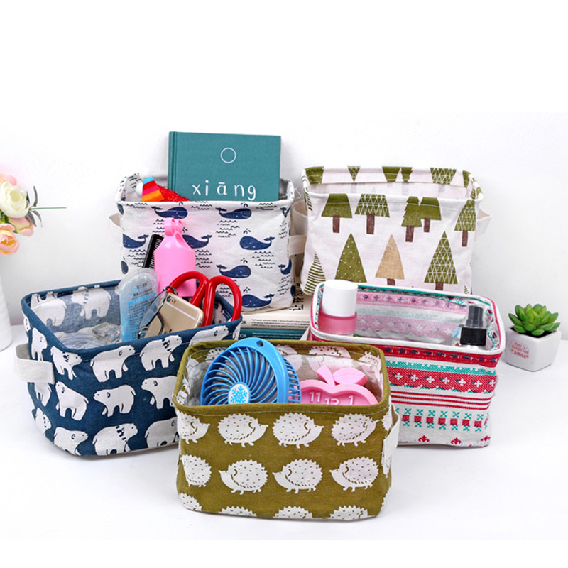 Basket For Toy Sundries Baskets Office Supplies Bag Box Organizer Stationery Storage In Home From Garden On
