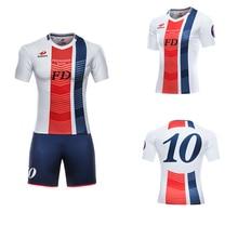 DIY Custom Blank Sets Soccer Uniforms kit Sublimation Design Football Team Shirt Tops Breathable Mens Jersey Football Jerseys цена 2017