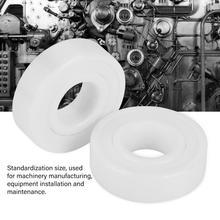 2Pcs 6001-2RS Bearings High accuracy Full Ceramic ZrO2 Ball Bearing 12x28x8mm Sealed Bearing rodamientos roulement a bille цена 2017