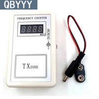 QBYYY 250 450MHZ remote control frequency tester electric door controller frequency counter car key remote tester free ship