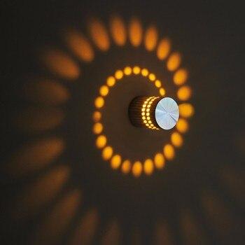 Wandleuchter Lampe LED 3 W Moderne Innen Beleuchtung AC90V-260V Leuchten Für Bar Leuchte Hintergrund Licht Dekoration