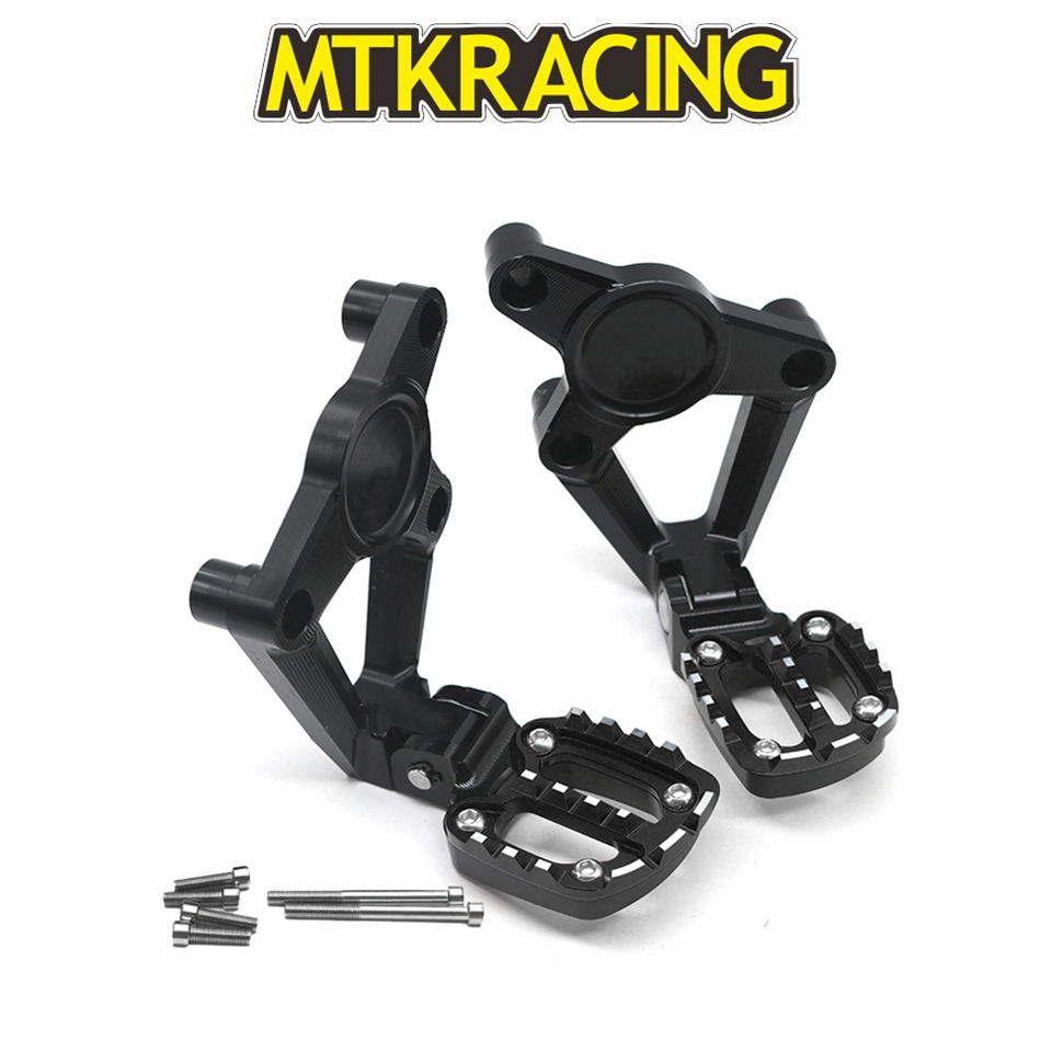 MTKRACING Motorcycle Accessories For HONDA XADV 300/750/1000 2017-2019 Folding Rear Foot Pegs Footrest Passenger