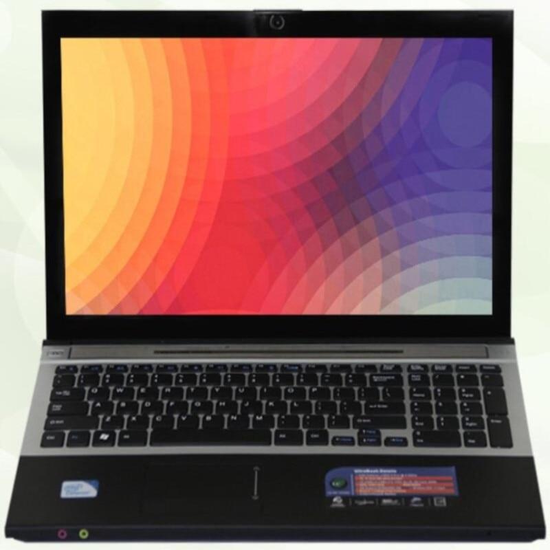 Intel Core i7 CPU HD graphique 8G RAM + 240G SSD + 2000G HDD ordinateur portable de jeu Windows 10 ordinateur portable avec DVD-RW Bluetooth 2 pièces DHL gratuit