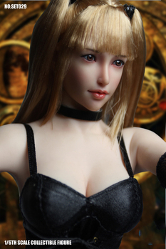 For Collection 1/6 Cosplay Series SET029 Death Model Misa Amane Head & Cothing Set for 12 inches Seamless Action Figure Body 2