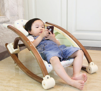 Solid Wood Baby Crib Baby Bed  Baby Sleeping Basket Baby Products Wholesale Manufacturers Детская кроватка