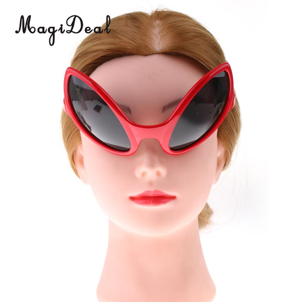 36a72ccd88e MagiDeal Pack of 6pcs Fashion Red Green Black Alien Sunglasses Kids Adults  Party Fancy Dress Costume Eyeglasses Accessories-in Party Favors from Home  ...