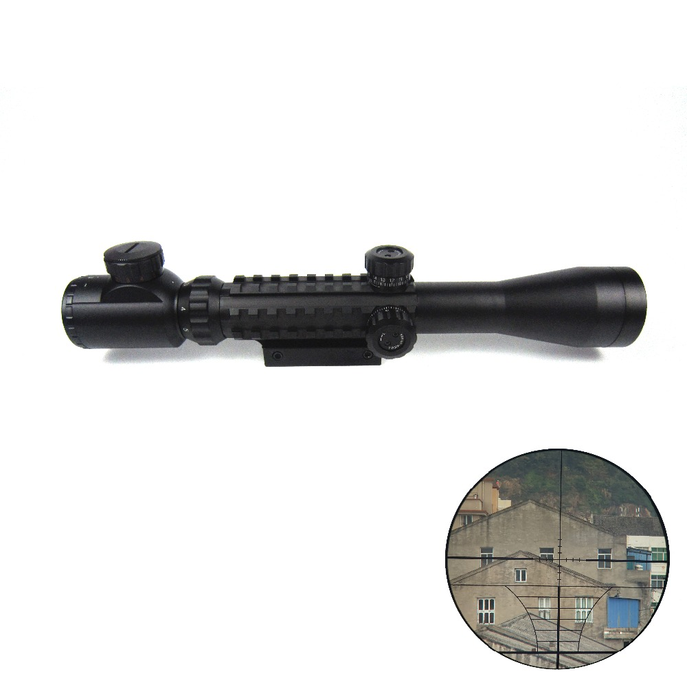 red dot scope riflescope 3 9x40 hunting scopes military tactical air optic sighting telescope lens11mm 20mm