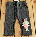Бесплатная доставка 2014 осень новой детской леггинсы эластичный пояс брюки