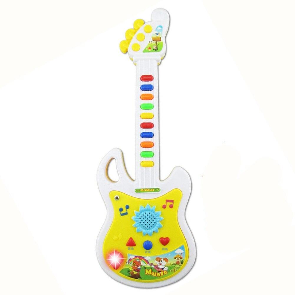Новые электронные Гитары музыкальный инструмент развивающие игрушки подарок для детей раннего образования ...