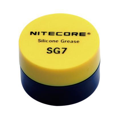 Free Shipping 1pc Hot Sale NiteCore SG7 Silicone Grease (5g) For All Flashlight
