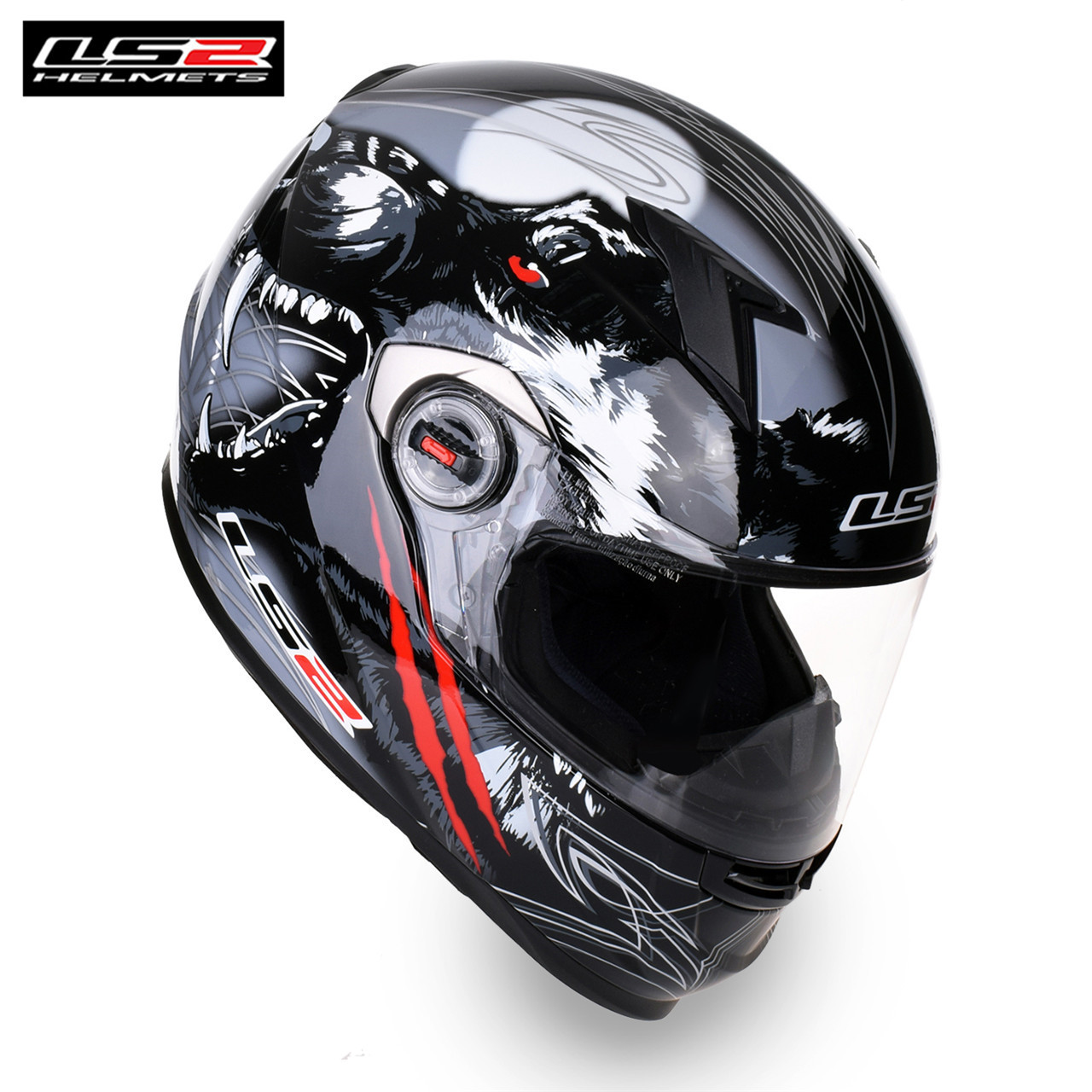 цены LS2 Hot Sales Motorcycle Helmet Full Face Racing Kask Casque moto Cascos Capacete Helmets Motor Bike