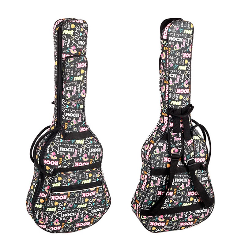 Free Shipping Electric Bass Guitar Bag Backpack Electric Guitar Bag 41inch Folk Guitar Bag Electric Guitar Case BASS Bag Cover