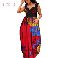 2019 African Dresses For Women Dashiki Party Long Maxi Dress Colorful Daily Wedding Size S 6XL Ankle Length Ankara Dress WY4091