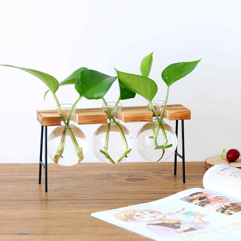 Wooden Shelf Plant Stand Ladder Storage Indoor Outdoor Garden Display Flower Pot Planter Supports Holder Rack 6cm