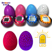 Фотография Tumbler led toys tamagochi Dinosaur egg Virtual Electronic Pet Machine Digital Electronic E-pet Retro Cyber Toy Handheld Game