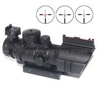 Wipson Airsoftsports Gun Riflescope 4x32 Rifle Scope Reticle Fiber Optic Sight Scope Rifle Airsoft Gun Hunting