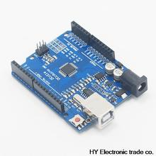 ООН R3 MEGA328P CH340G CH340 Развитие Доска CH340G + Совместимый для Arduino UNO R3 MEGA328P НЕТ USB КАБЕЛЬ