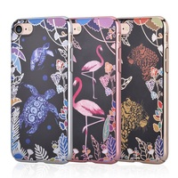 DEVIA For IPhone 7 4 7 Inch Case Luxy Series Emboss Printing Electroplating PC Back Phone