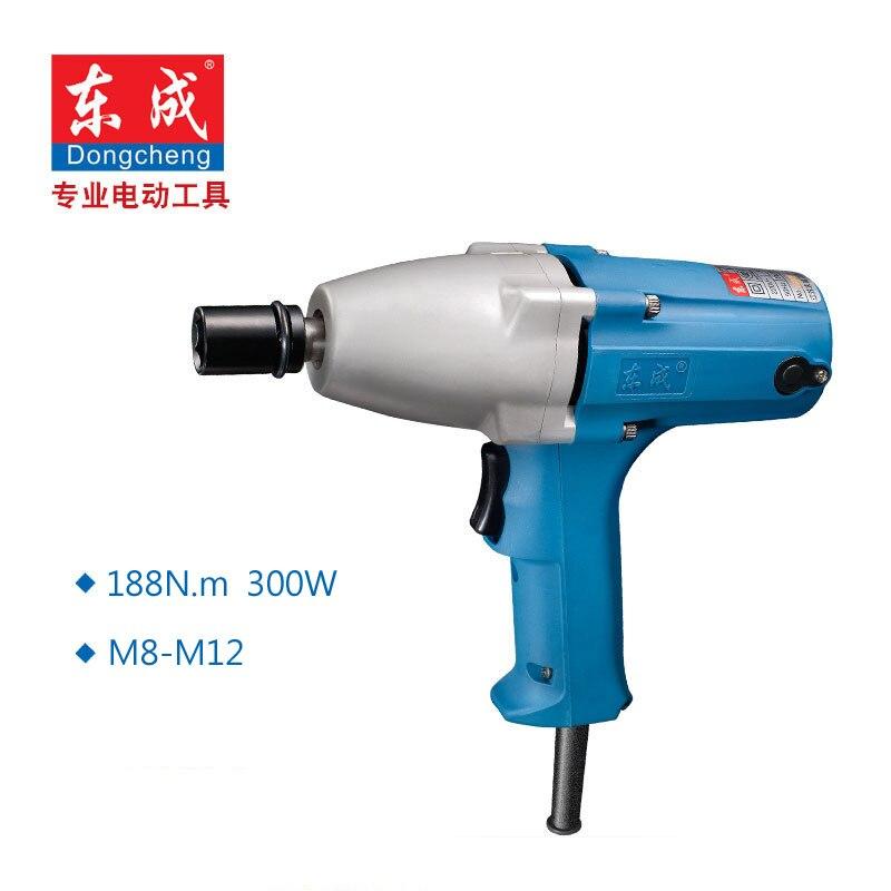цена на 188N.m Electric Wrench 300W Impact Wrench M8-M12 Electric Impact Wrench 1/2 Arbor 12.7x12.7mm