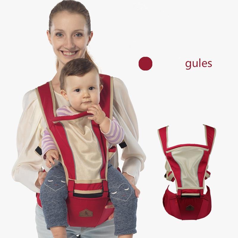 Breathable Ergonomic Backpack Carrier For Baby Care Infant Hipseat Baby Carrier Toddler Sling Kangaroo Newborn Baby Suspenders 8 in 1 ergonomic baby carrier sling 2017 breathable baby kangaroo hipseat backpacks carriers removeable backpack sling