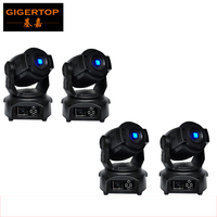 4Pcs Lot Free Ship 60W Led Moving Head Spot Light 15DMX Ch 3 Facet Prism 2Gobo