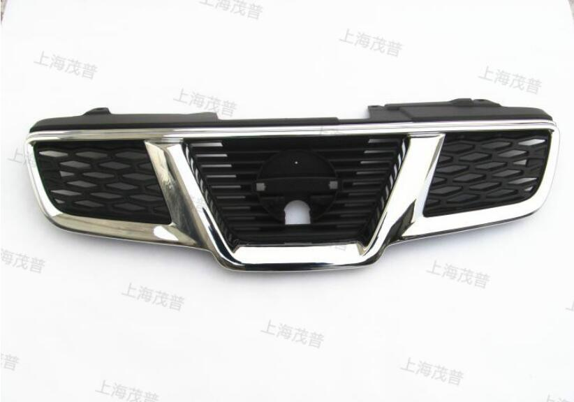 JIOYNG ABS Car Front bumper Around Mesh Grille Grills Cover Trims For Nissan X-Trail XTrail T31 2008 2009 2010 2011 2012 2013 6pcs set car accessories matt abs front air vent frame cover trim for nissan xtrail x trail 2008 2009 2010 2011 2012 2013
