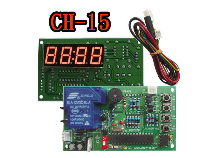 CH 15 coin operated USB time control Timer Board Power