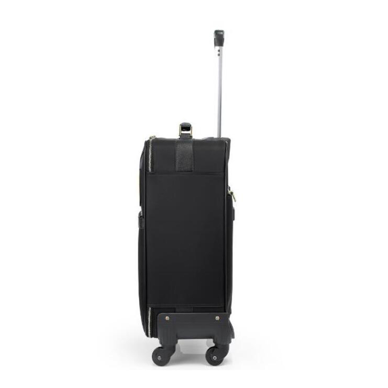 """TRAVEL TALE 20"""" 24"""" inch women monster suitcase spinner leather luggage trolley case for travel-in Rolling Luggage from Luggage & Bags    2"""