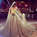 2015 real do Vintage de luxo com diamantes e cristais EDD-022