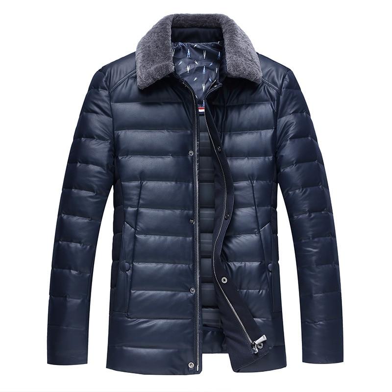 Cool smart business 90% blanc canard vers le bas manteaux hommes mode vers le bas vestes mâle nouveau style survêtement grande taille M-8XL