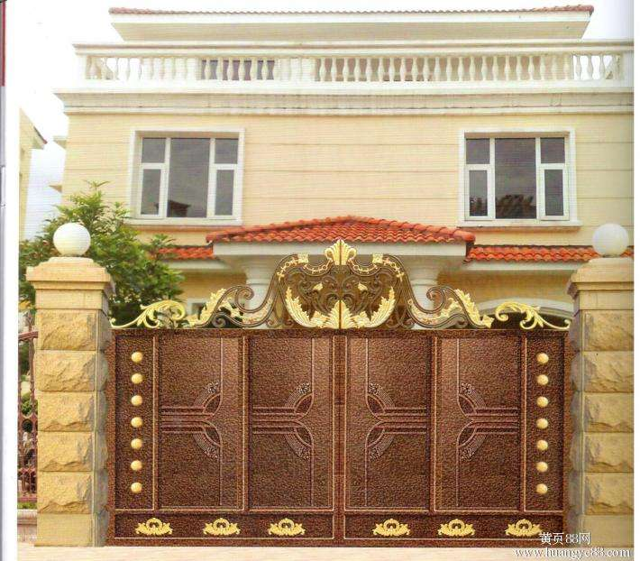 Home Aluminium Gate Design / Steel Sliding Gate / Aluminum Fence Gate Designs Hc-ag26