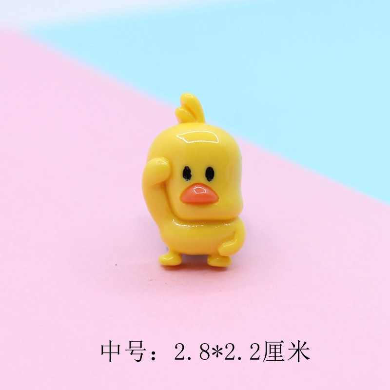 10pcs Mini Duckling Addition Slime Supplies Accessories DIY Decoration for Charm Slime Filler Slime Kids Toys Decoration Gift E