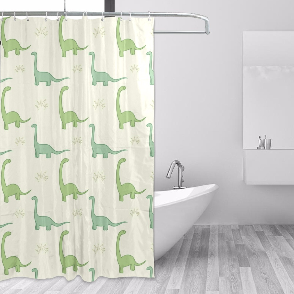 152x183cm Shower Curtain Waterproof With Hooks Mildew Mold Resistant ...