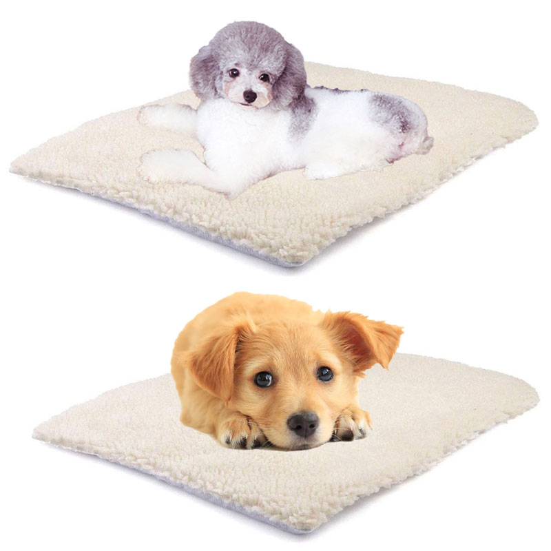 Rug Dog Won T Chew: White 60*45cm Cat Rug Dog Blanket Self Heated Carpet Pet