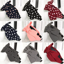 2018 New Arrival 1PC Graceful Antiskid Girls Womens Wide Big Bow Headbands High Quality Allergy Free Hair Accessories