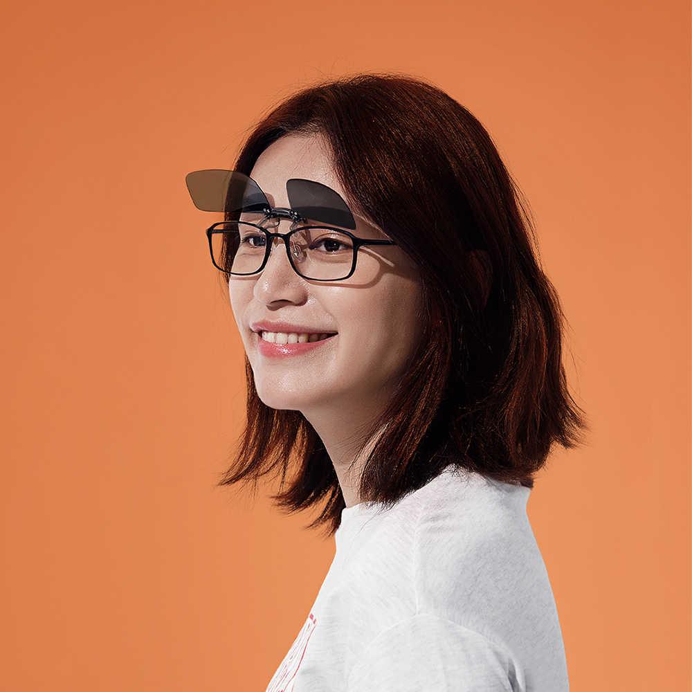 New Xiaomi Mijia Turok Steinhardt TS Brand Clip Sunglasses Polarized Clear Sight Glass Anti UVA UVB for Outdoor Travel Man Woman