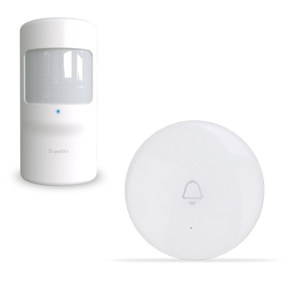 Security Wireless Pet Immune Pir Motion Sensor For G90B Plus WiFi GSM Wireless Home Alarm System Security GS-WMS08 New Arrival