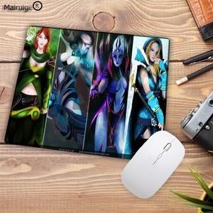 Image 5 - Mairuige DOTA 2 Ultimative Gaming Geschwindigkeit Mousepad Natürliche Gummi Gamer Maus Matte Pad Spiel Computer Schreibtisch Pad Maus Spielen Matte 18X22CM
