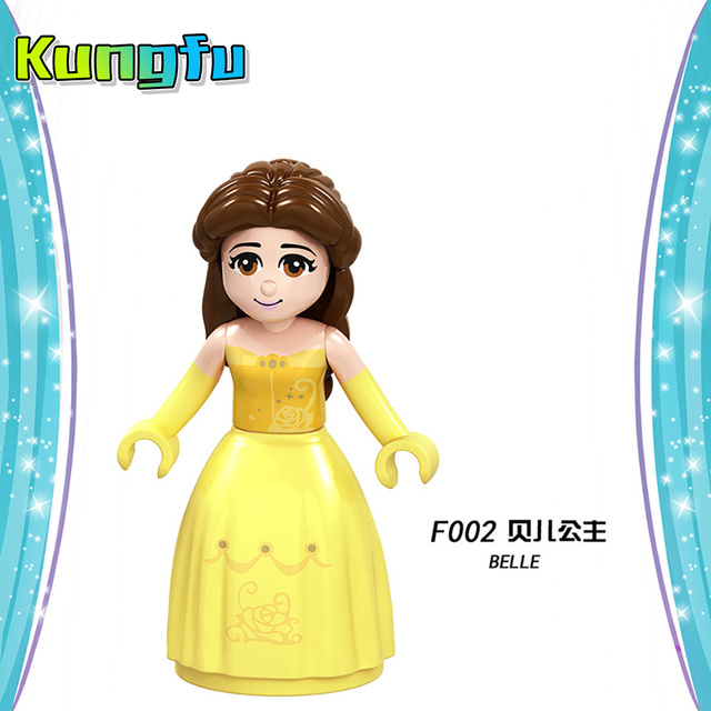 Playmobil Disneyes series Fairy Godmother Maleficen Compatible Legoings princess Building Blocks Figures Toys  Gift Compatible  1