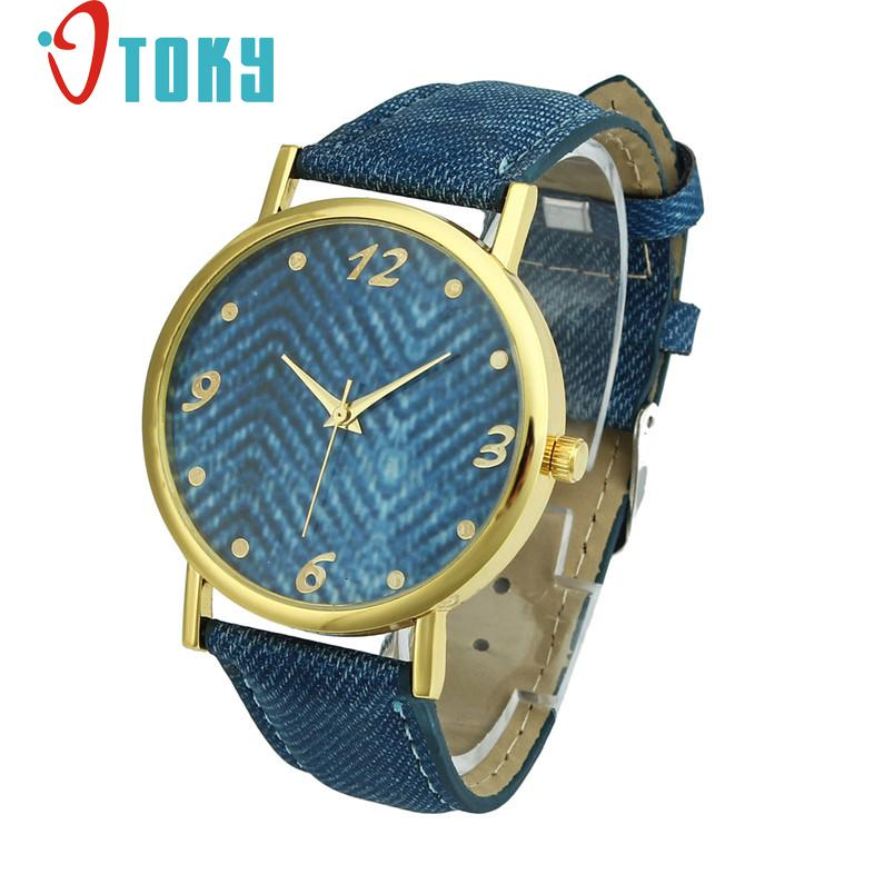 Hot Hothot Sales Design Women Watch Denim Cloth Wrist Watch Women Casual Quartz Watch, relogio feminino,montre femme jy28 hot hothot sales colorful boys girls students time electronic digital wrist sport watch free shipping at2 dropshipping li
