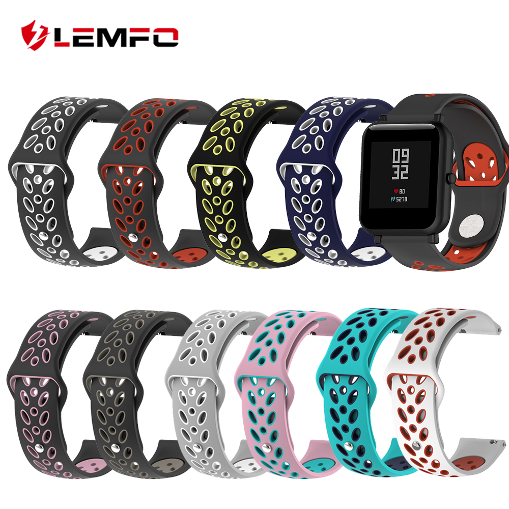 Wristband Smartwatch Bracelet Replacement-Strap Xiaomi Silicone for Huamibip 20mm Youth