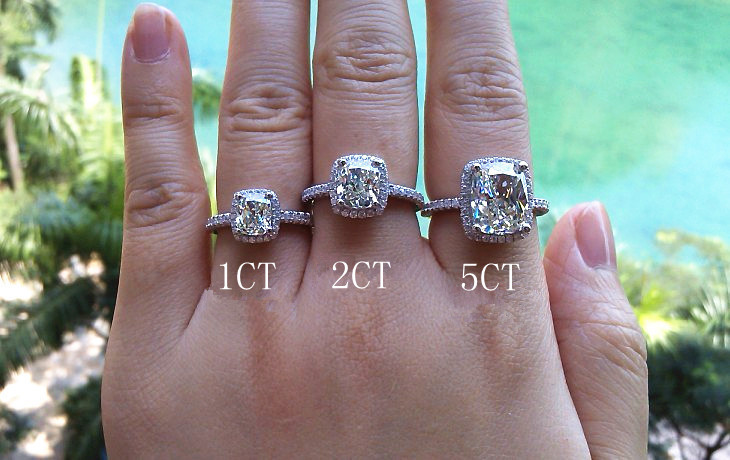Completely new Quality Guarant Sale Promotion!5 carat Cushion Cut NSCD Synthetic  HY13