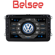 Belsee for VW Polo Passat b5 b6 b7 Golf 5 6 Tiguan Octa Core PX5 4GB Android 8.0 Autoradio GPS Car Radio Carplay Multimedia DVD